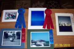 Matt\'s photos and ribbons (County Fair 2010)