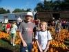 Pumpkin Patch Train Ride in Oct.